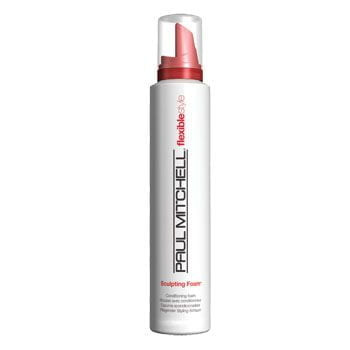 flexible style sculpting foam - paul mitchell