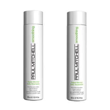 dupla super skinny - shampoo e tratamento - paul mitchell