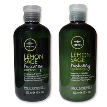dupla tea tree lemon sage shampoo e condicionador - paul mitchell