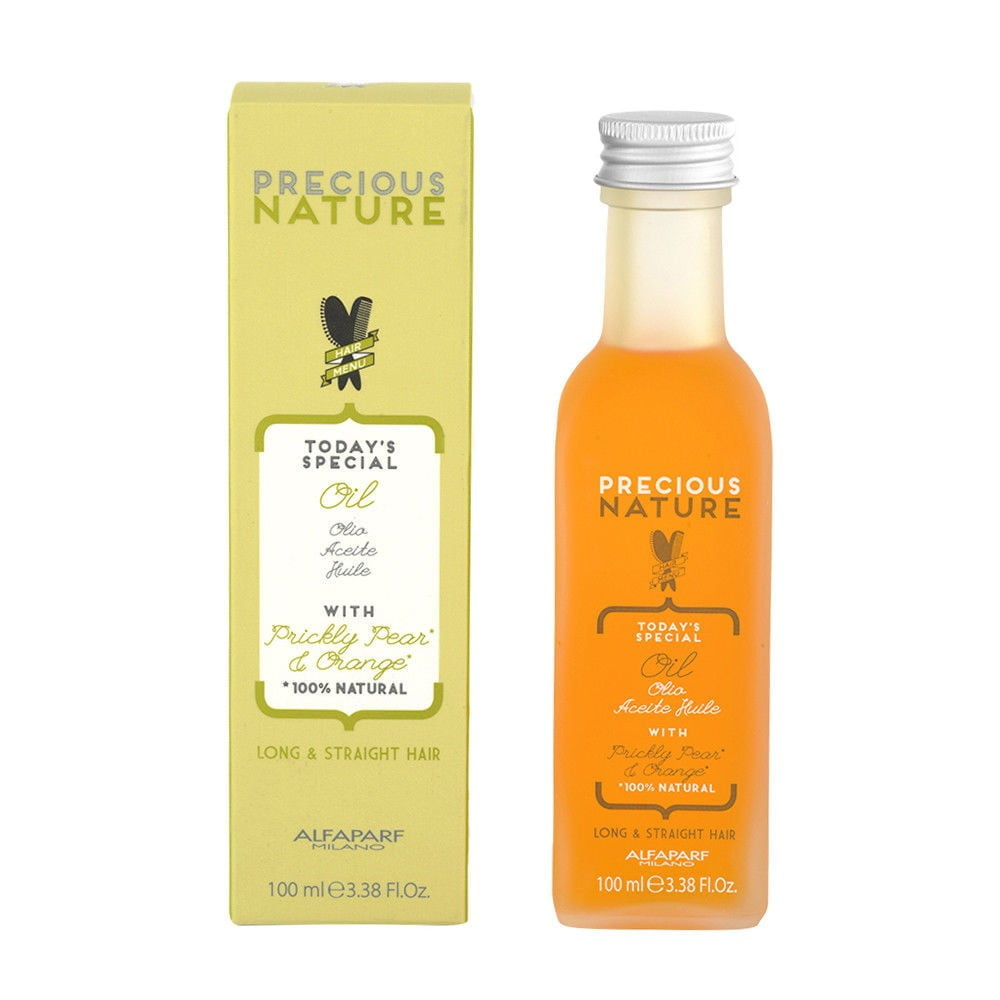 Precious Nature Long & Straight Hair Oil - Óleo Capilar 100ml - Alfaparf