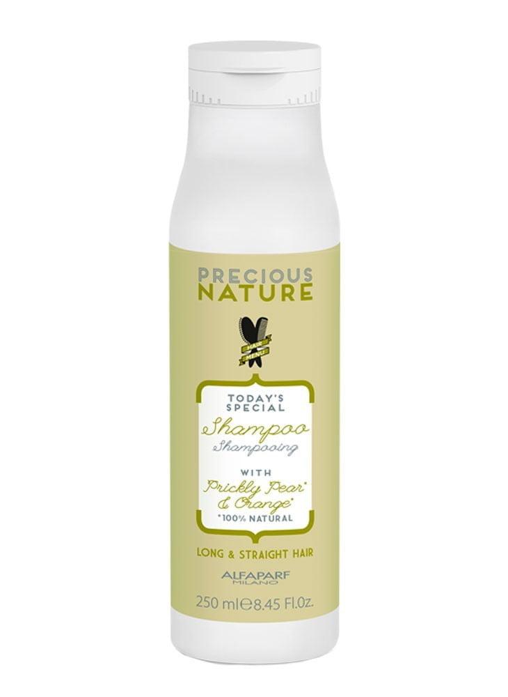 Precious Nature Long & Straight Hair Shampoo 250ml - Alfaparf