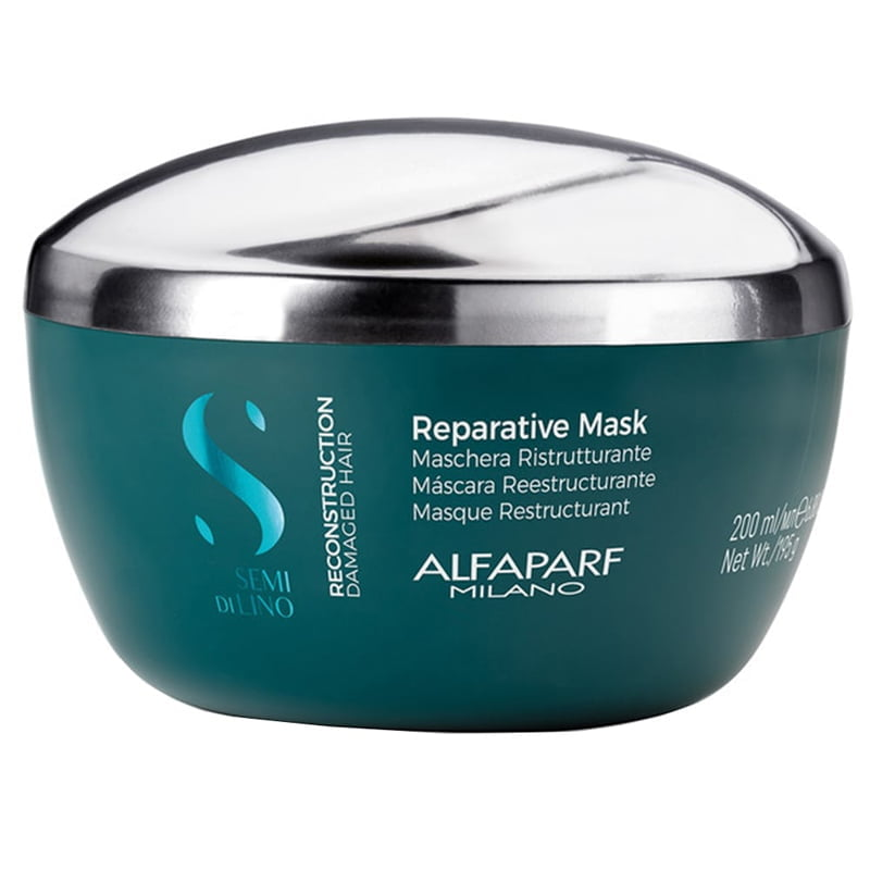 Semi Di Lino - Reconstruction Reparative Mask 200ml - Alfaparf