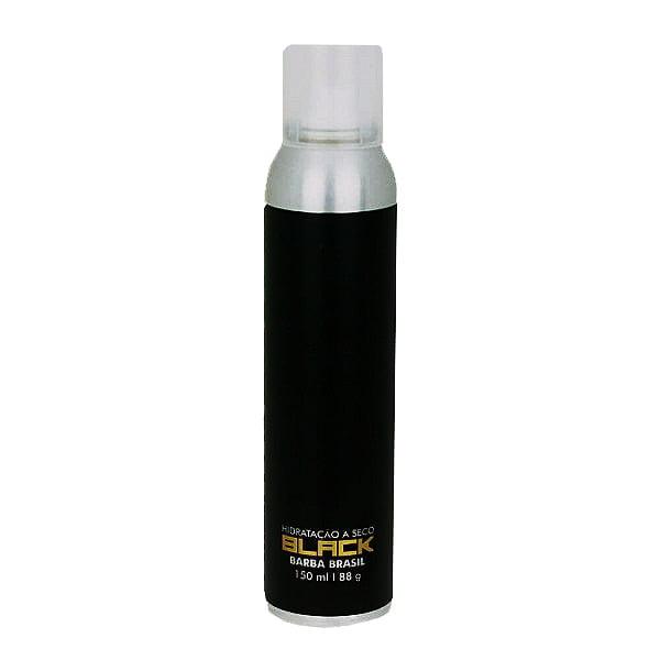 Hidratação a Seco Black 150ml - Barba Brasil