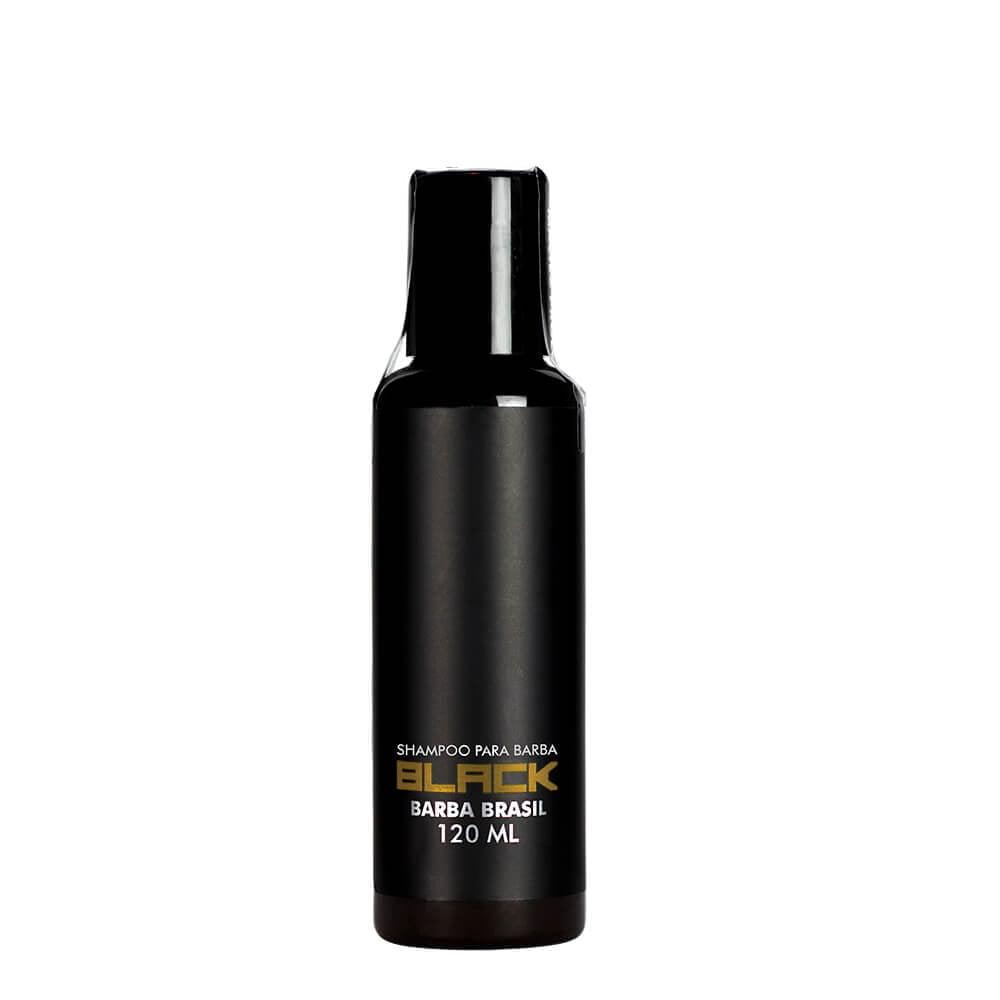 Shampoo Para Barba Black 120ml - Barba Brasil
