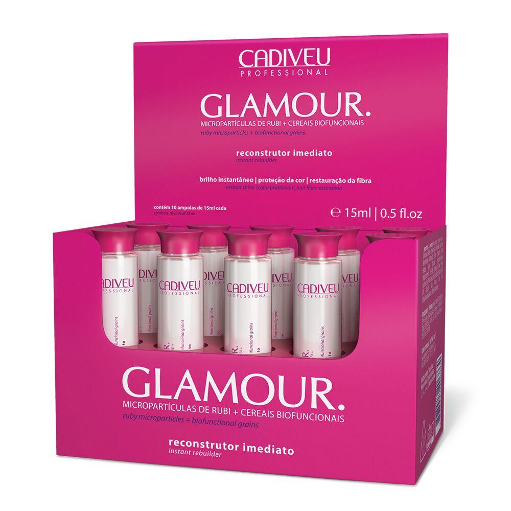 Glamour Rubi Reconstrutor Imediato 10x15ml - Cadiveu