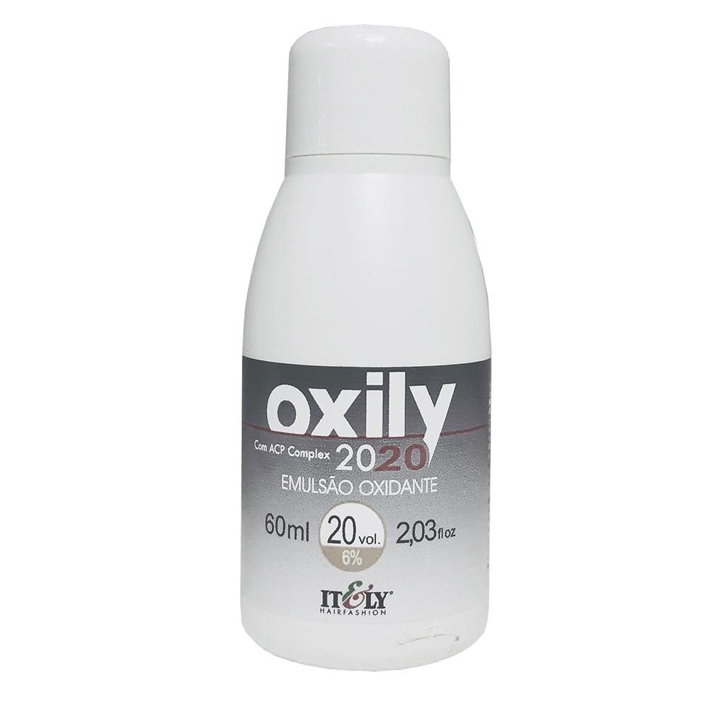 Itely Água Oxigenada OX 20vol. 60ml - Emulsão Oxidante Creme