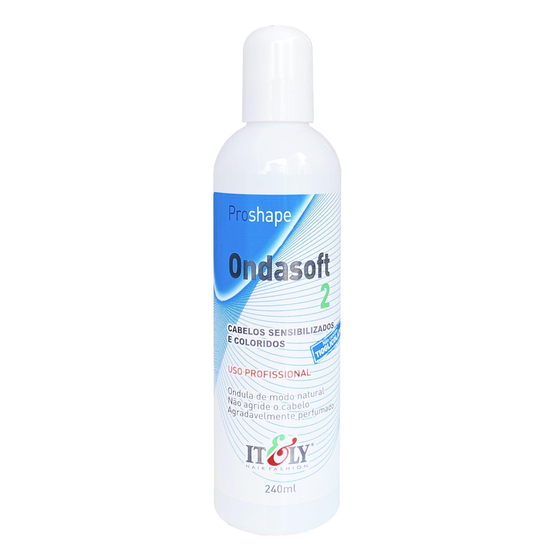 Líquido Permanente Ondasoft Itely 2 - Cabelo Sensibilizados e Coloridos