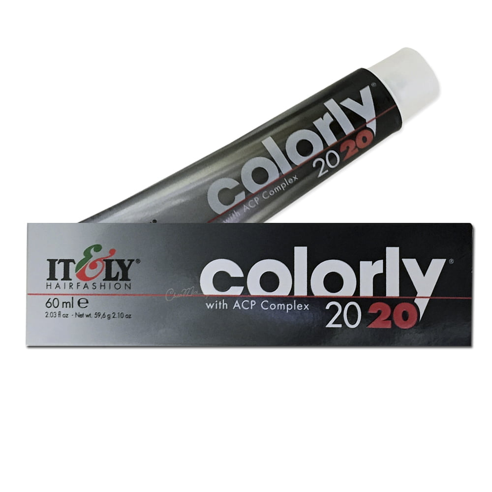 Tintura Itely Colorly 8FA - Louro Claro Laranja Dourado 60ml - Tinta para Cabelo