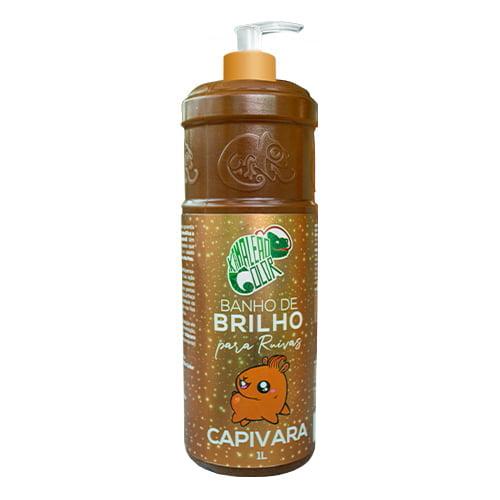 Banho de Brilho Capivara 1000ml - Kamaleão Color
