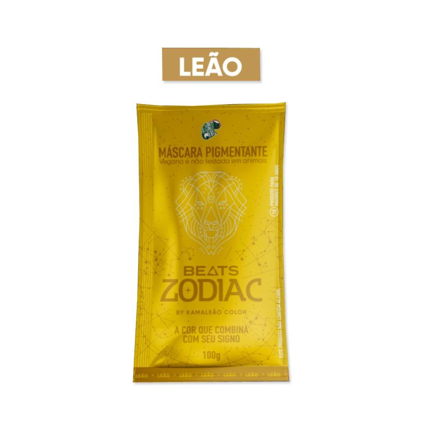 Máscara Pigmentante Beats Zodiac Leão Kamaleão Color