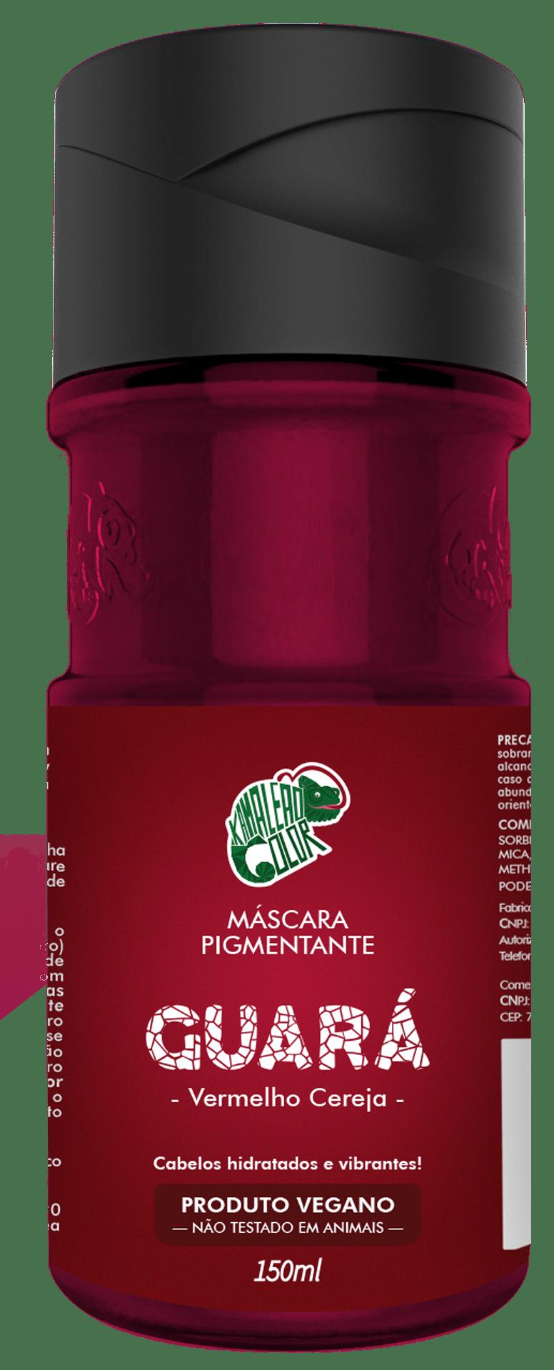 Máscara Pigmentante Guará Kamaleão Color Cereja
