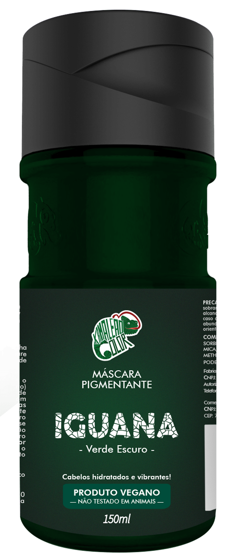 Máscara Pigmentante Iguana - Kamaleão Color