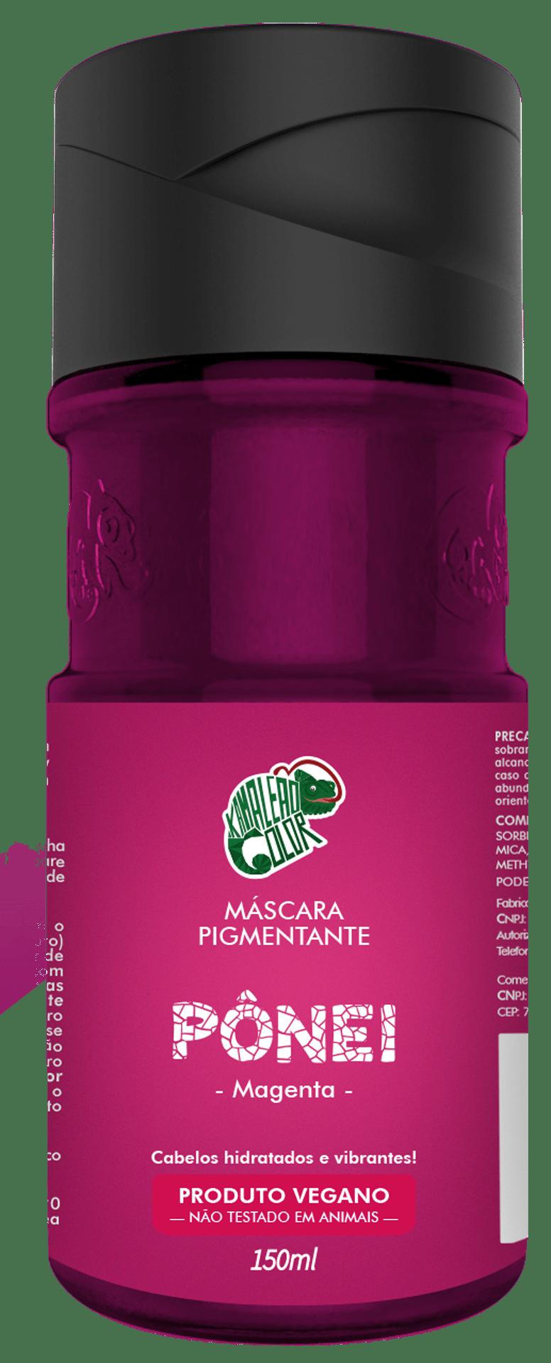 Máscara Pigmentante Pônei - Kamaleão Color  Magenta