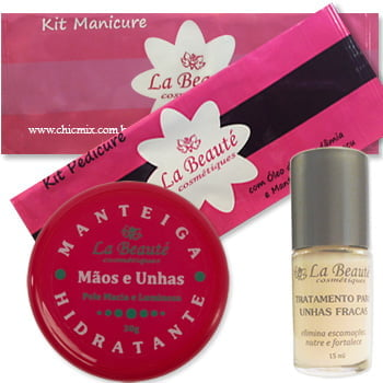 Kit Manicure em Casa - La Beauté - Faça você mesmo