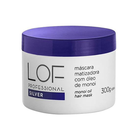 Silver Máscara Matizadora 300ml - Lof Professional