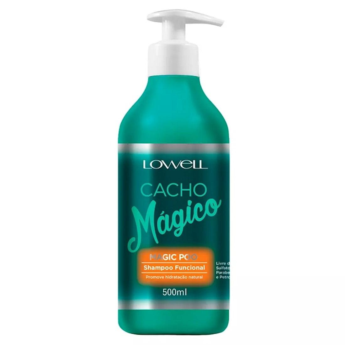 Cacho Mágico Shampoo Funcional Magic Poo 500ml - Lowell