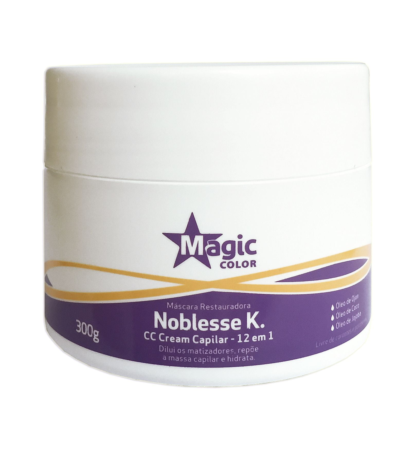 Noblesse K. CC Cream Capilar 300g - Magic Color