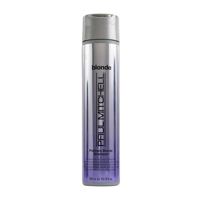 color shampoo platinum blonde - sem sal - paul mitchell
