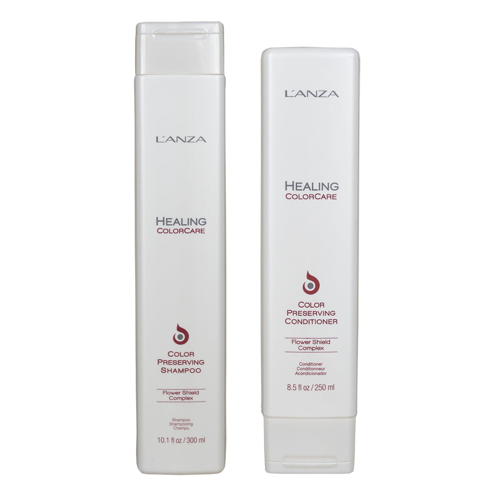 dupla color care - shampoo e condicionador l`anza