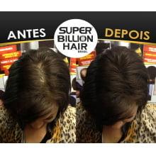 Super Billion Hair Fibers 25gr Castanho Médio - Disfarce Para Calvice