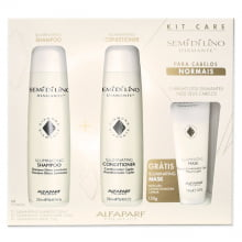 Semi Di Lino Diamante Kit Care - Alfaparf