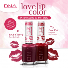 Batom Tinta Love Lip Color Love Cherry Dna Italy 10ml