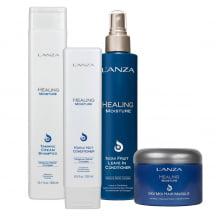Healing Moisture Hidratação Profunda Kit Completo  4 Produtos - L`anza