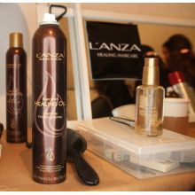 Keratin Healing Oil Lustrous Finishing Spray 300g - L`anza