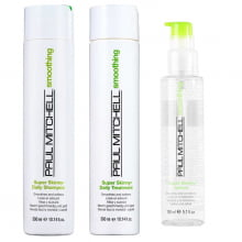 Smoothing Super Skinny Kit Sha., Trat. Serum - Paul Mitchell