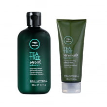 Tea Tree Shampoo e Scalp Kit de Tratamento - Paul Mitchell