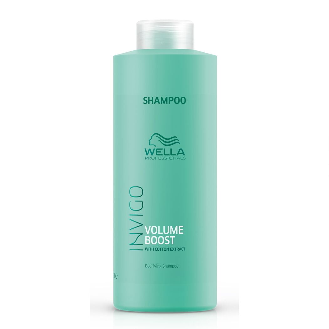 Invigo - Volume Boost Shampoo 1000ml - Wella
