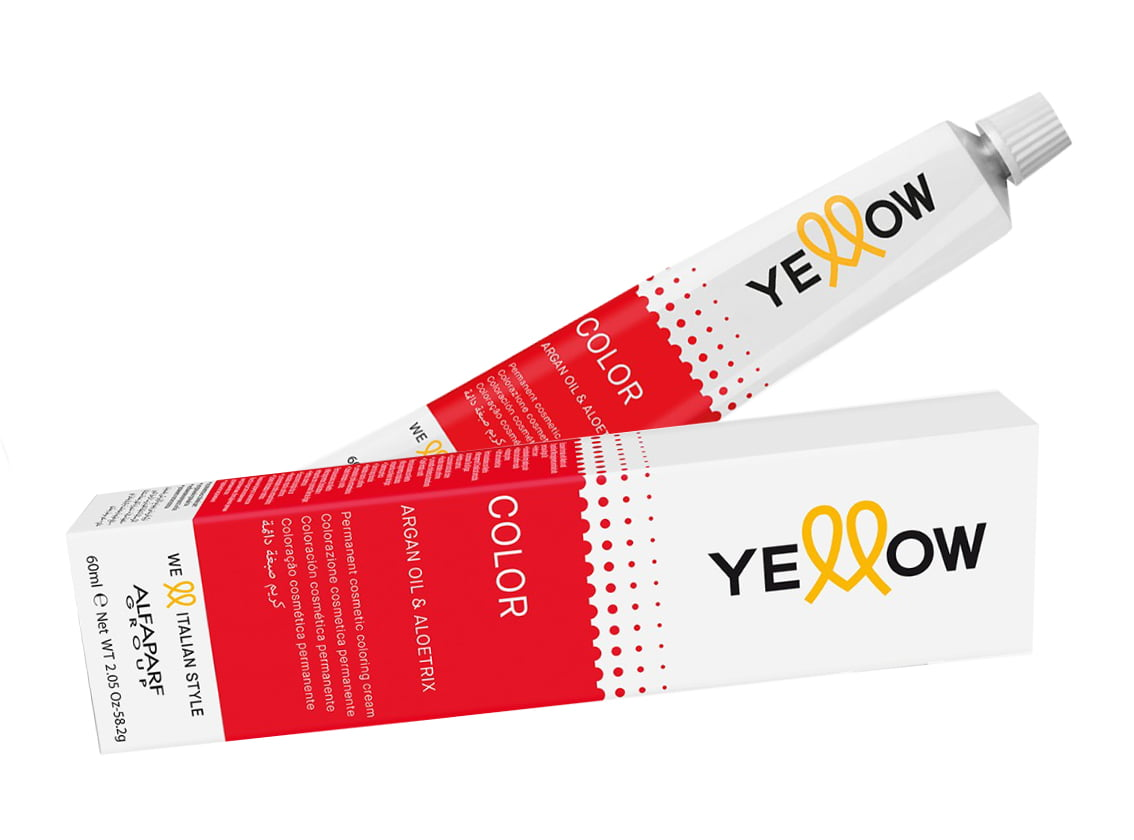 Tintura Yellow Color Permanente 7.31 Louro Médio Dourado Cinza 60ml Alfaparf