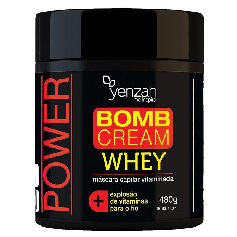 Whey Bomb Cream Máscara 480g - Yenzah